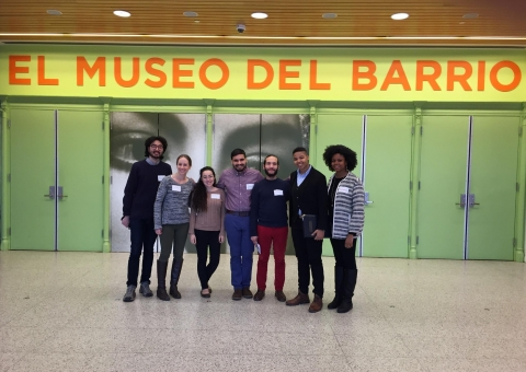 Students on Site Visit to El Museo del Barrio